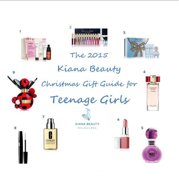 Kiana Beauty 2015 Christmas Gift Guide for Teenage Girls