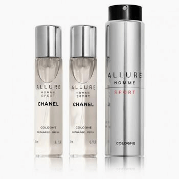 Chanel Allure Homme Sport Cologne Refillable Travel Spray