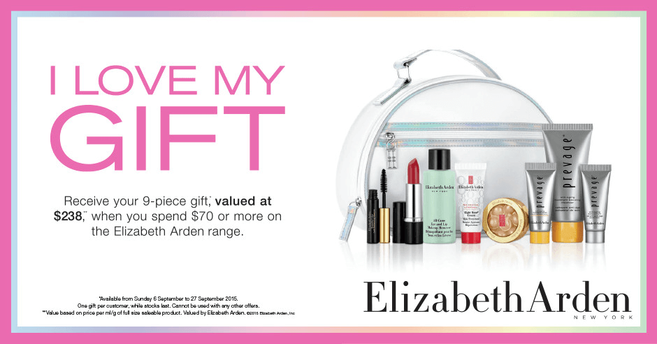 Elizabeth Arden GiftGift with Purchase 2015