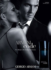 Giorgio Armani Code for Men featuring Enrique Palacios and Mini Anden
