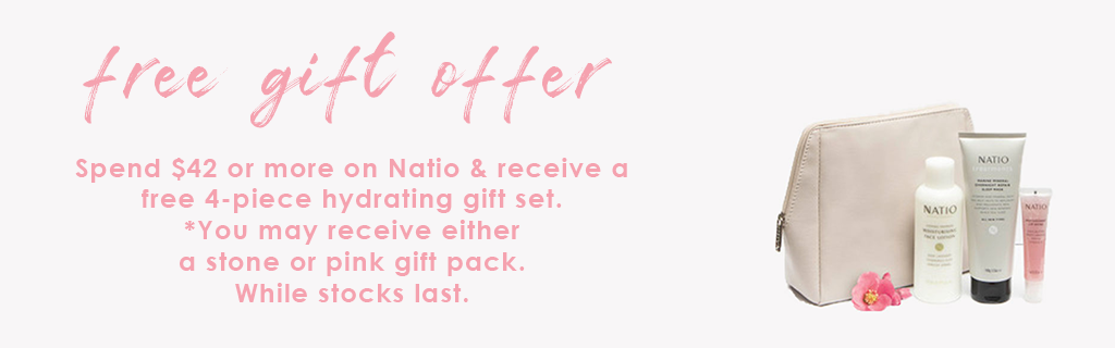 Natio Free Gift With Purchase