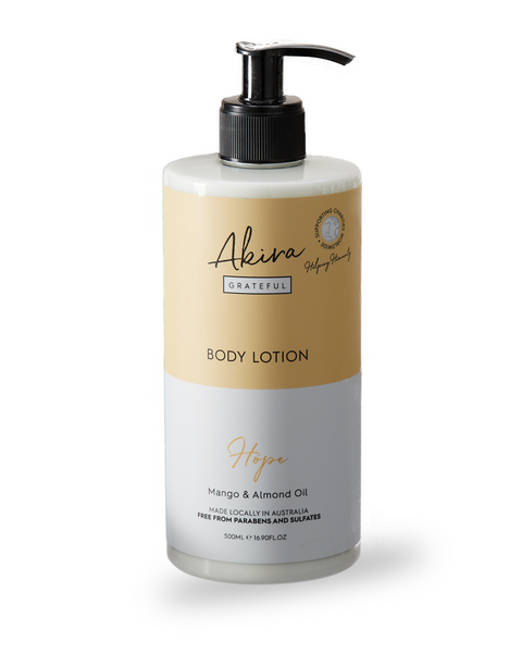 Akira Grateful Body Lotion Mango & Almond Oil