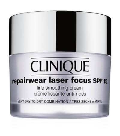 Clinique Repairwear Laser Focus SPF 15 Line Smoothing Cream - 1 - Very Dry to Dry, 2 - Dry Combination
