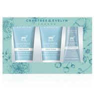 Crabtree & Evelyn Goatmilk & Oat Travel Ritual 3-piece Set