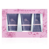 Crabtree & Evelyn Lavender & Espresso Travel Ritual 3-piece Set