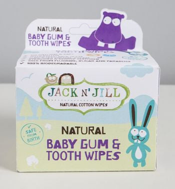 Jack N' Jill Kids Natural Baby Gum and Tooth Wipes