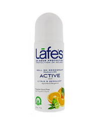 Lafe's Natural Roll On Deodorant - Active