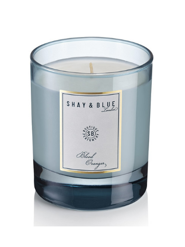 Shay & Blue London Blood Oranges Scented Natural Wax Candle