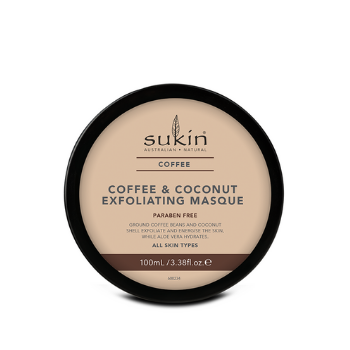 Sukin Coffee & Coconut Exfoliating Masque