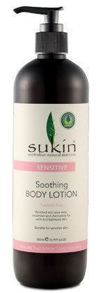 Sukin Sensitive Soothing Body Lotion