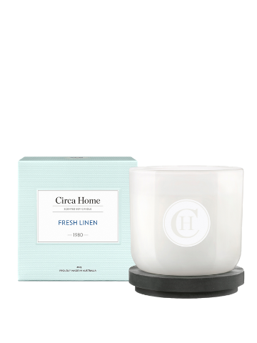 Circa Home Fresh Linen Classic Soy Candle