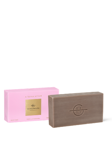 Glasshouse Fragrances A Tahaa Affair Vanilla Caramel Body Bar