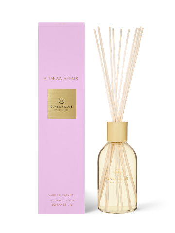 Glasshouse Fragrances A Tahaa Affair Vanilla Caramel Fragrance Diffuser