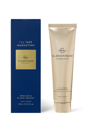 Glasshouse Fragrances I'll Take Manhattan Orchids & Blood Orange Hand Cream