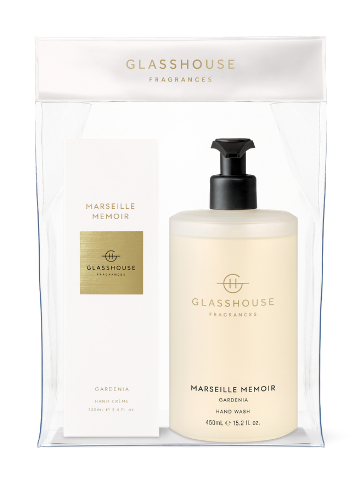 Glasshouse Fragrances Marseille Memoir Gardenia Hand Duo Gift Set