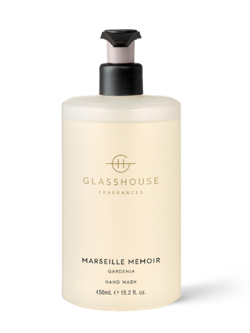 Glasshouse Fragrances Marseille Memoir Gardenia Hand Wash