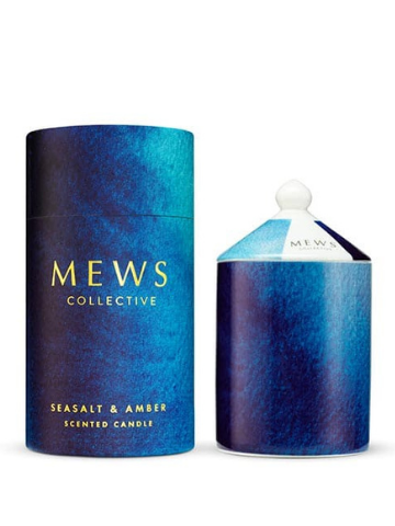 Mews Collective Seasalt & Amber Large Candle