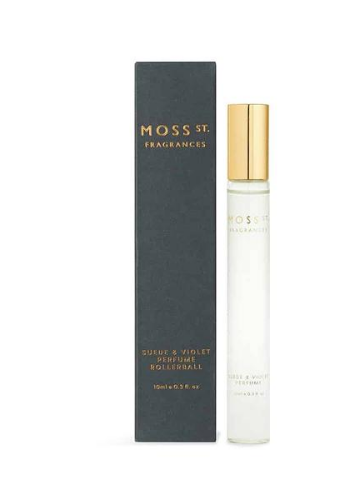 Moss St. Fragrances Suede & Violet Perfume Rollerball