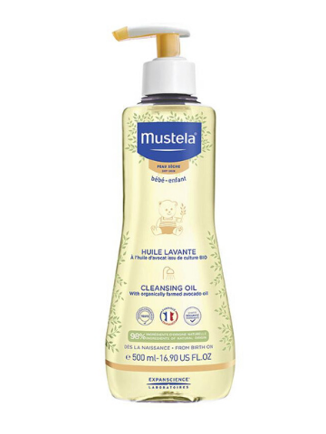Mustela Baby Cleansing Oil for Dry Skin