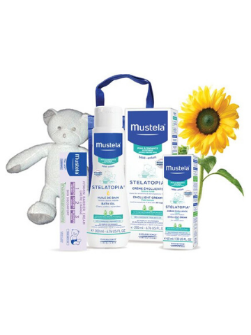 Mustela Extra-Dry and Eczema-Prone Skin Set