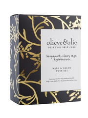 Olieve & Olie Wash and Cream Twin Set