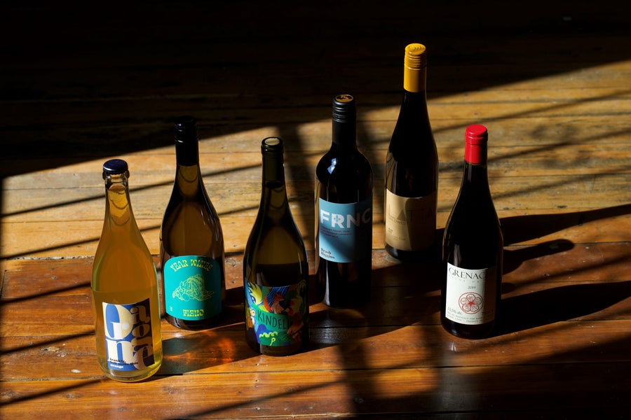 Natural and minimal intervention 6 pack from some of Australia's top producers (plus a Grenache from France!)