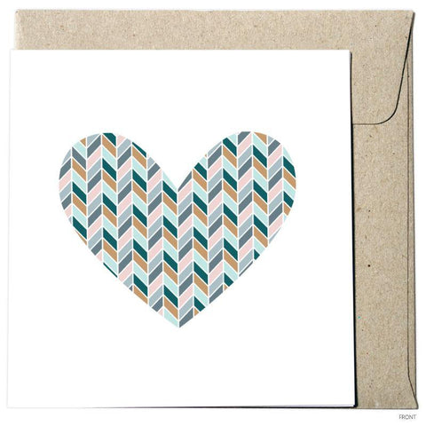 Chevron Heart