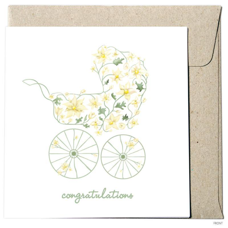 Congratulations - Flannel Flowers