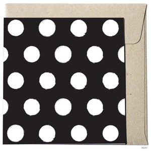 Polka Dot - Black