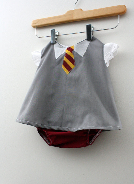 Baby Wizard Student Costume - Swing Top - SHIRT ONLY