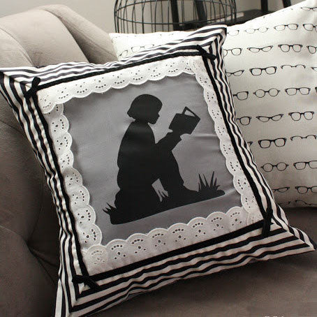 Librarian Glasses Pillow