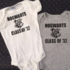 Wizard School Graduation Year Onesie