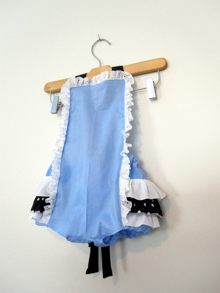 Retro Ruffler - Alice in Wonderland - Jumper - Sunsuite - Romper - Girl - Baby - Todler costume