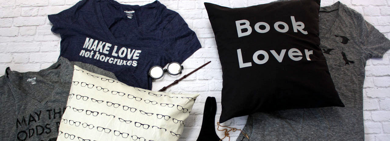 Bookish Gifts Harry Potter Divergent Hunger Games and More