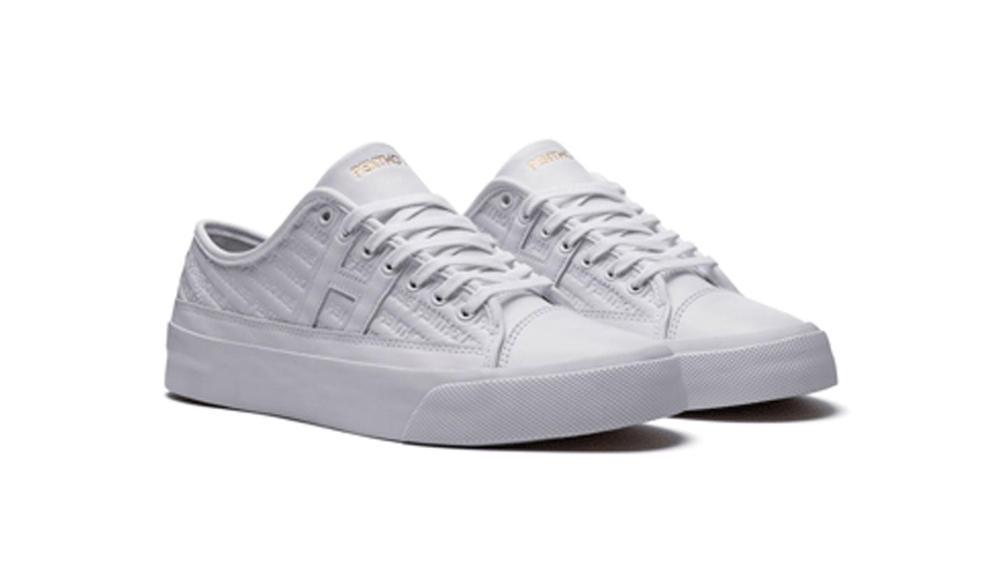 HUF X Penthouse rose sneakers