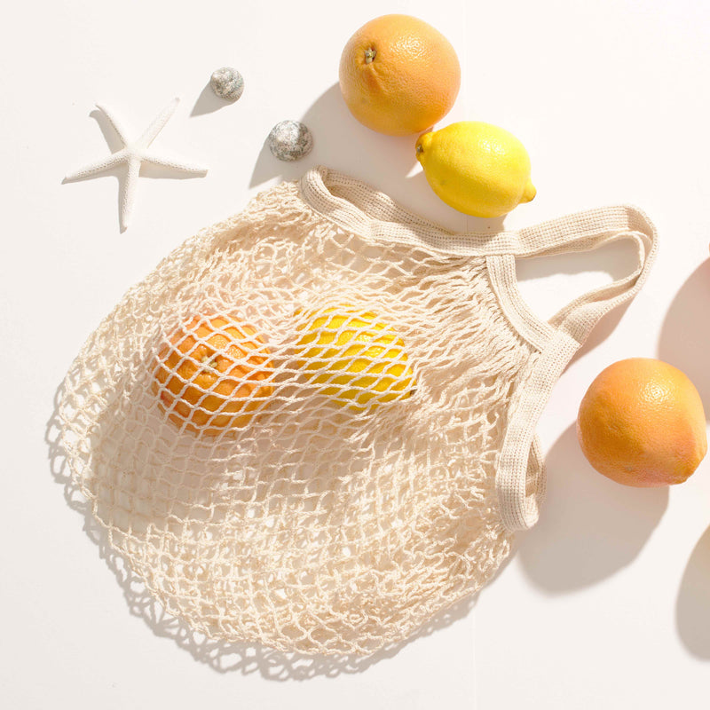 Sophie Net Bag - short length handle