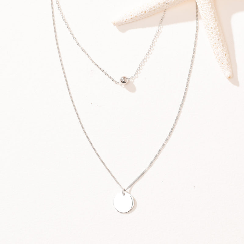 Evil Eye White Zircon S925 Necklace
