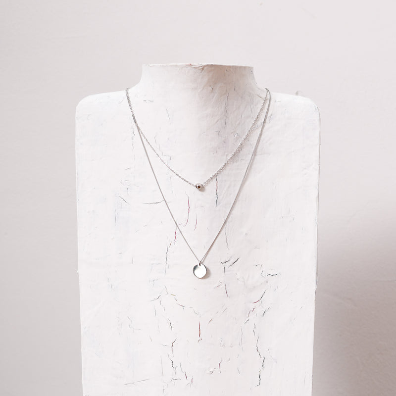 The Classic Layered S925 Necklace | Silver