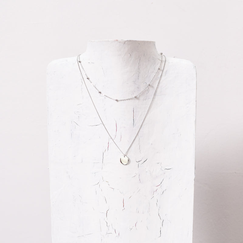 Lola Layered S925 Necklace | Silver