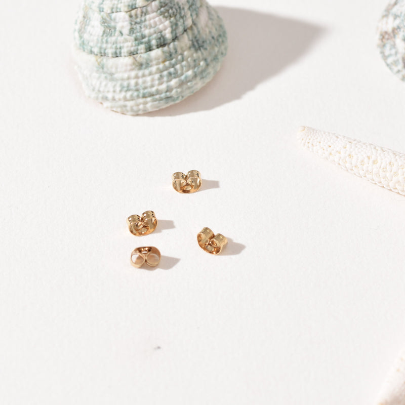 Butterfly Earring Back | Gold