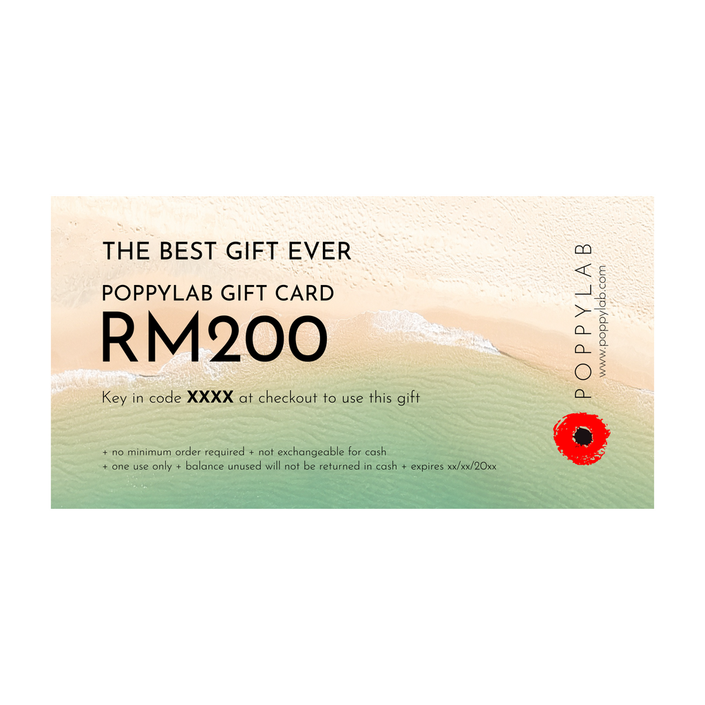 GIFT CARD: RM200