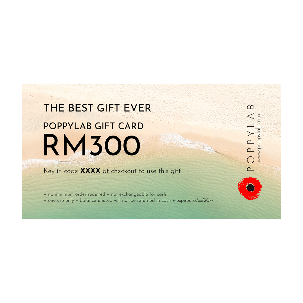 GIFT CARD: RM300