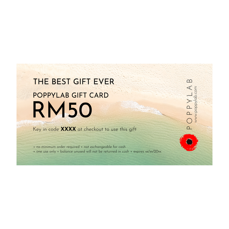 GIFT CARD: RM50