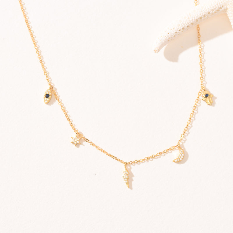 Moonstone S925 Necklace