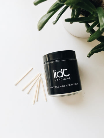 Lidt Handmade Seattle Coffee House Candle 4oz