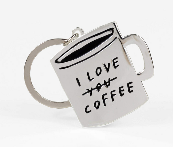 Adam J. Kurtz I Love You Coffee Keyring
