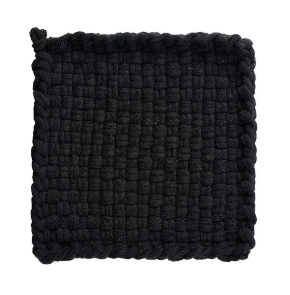 Kate Kilmurray Earth (Black) Coaster