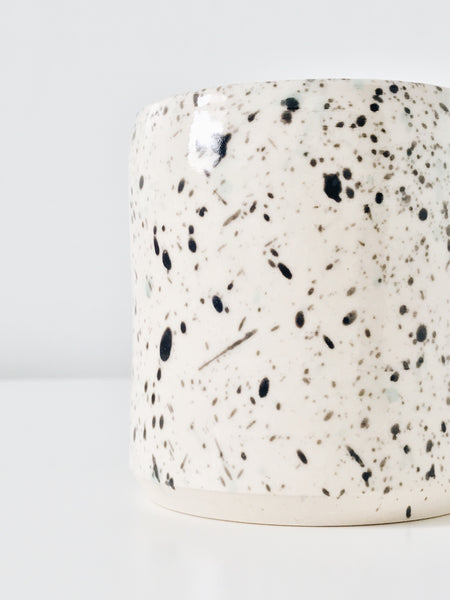 Mary Carroll Ceramics Speckle Tumbler