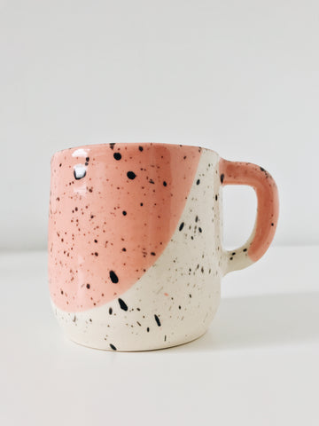 Mary Carroll Ceramics Drip & Speckle Mug