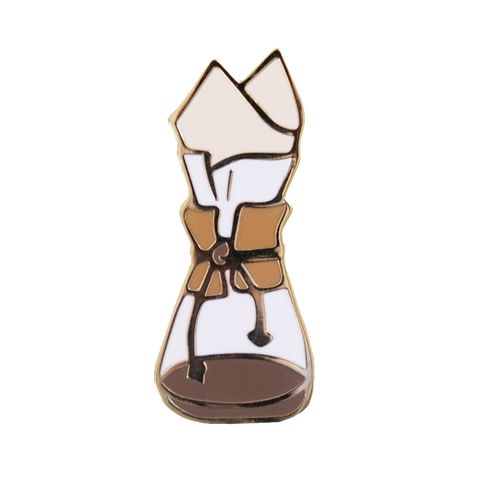 Honey & Brie Design Coffee Brewer Pin